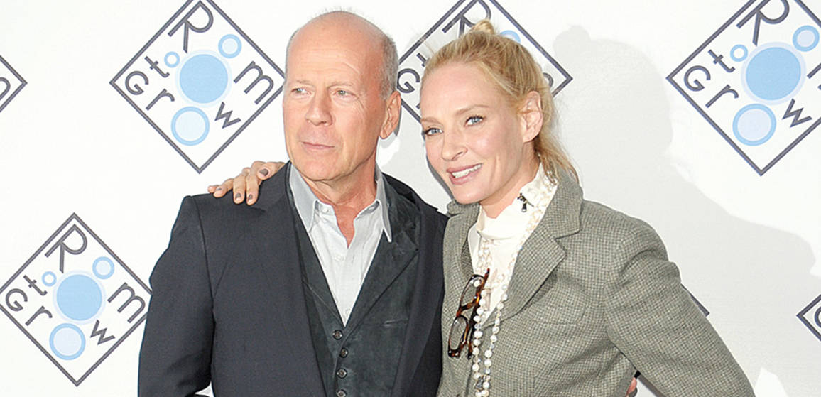 bruce willis uma thurman and more attend the room to. Black Bedroom Furniture Sets. Home Design Ideas