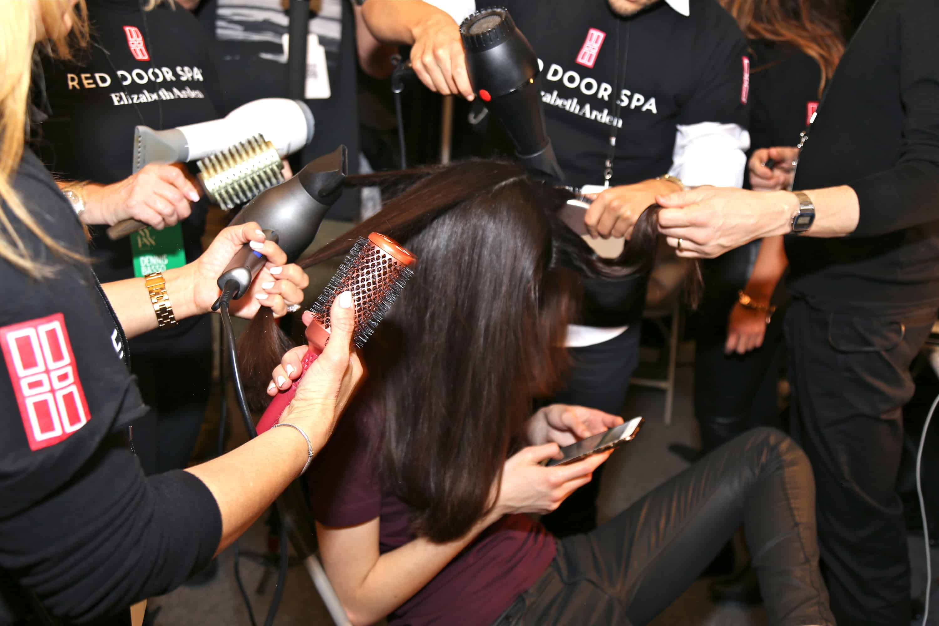 Backstage At Dennis Basso Fall 2016 Show The Knockturnal
