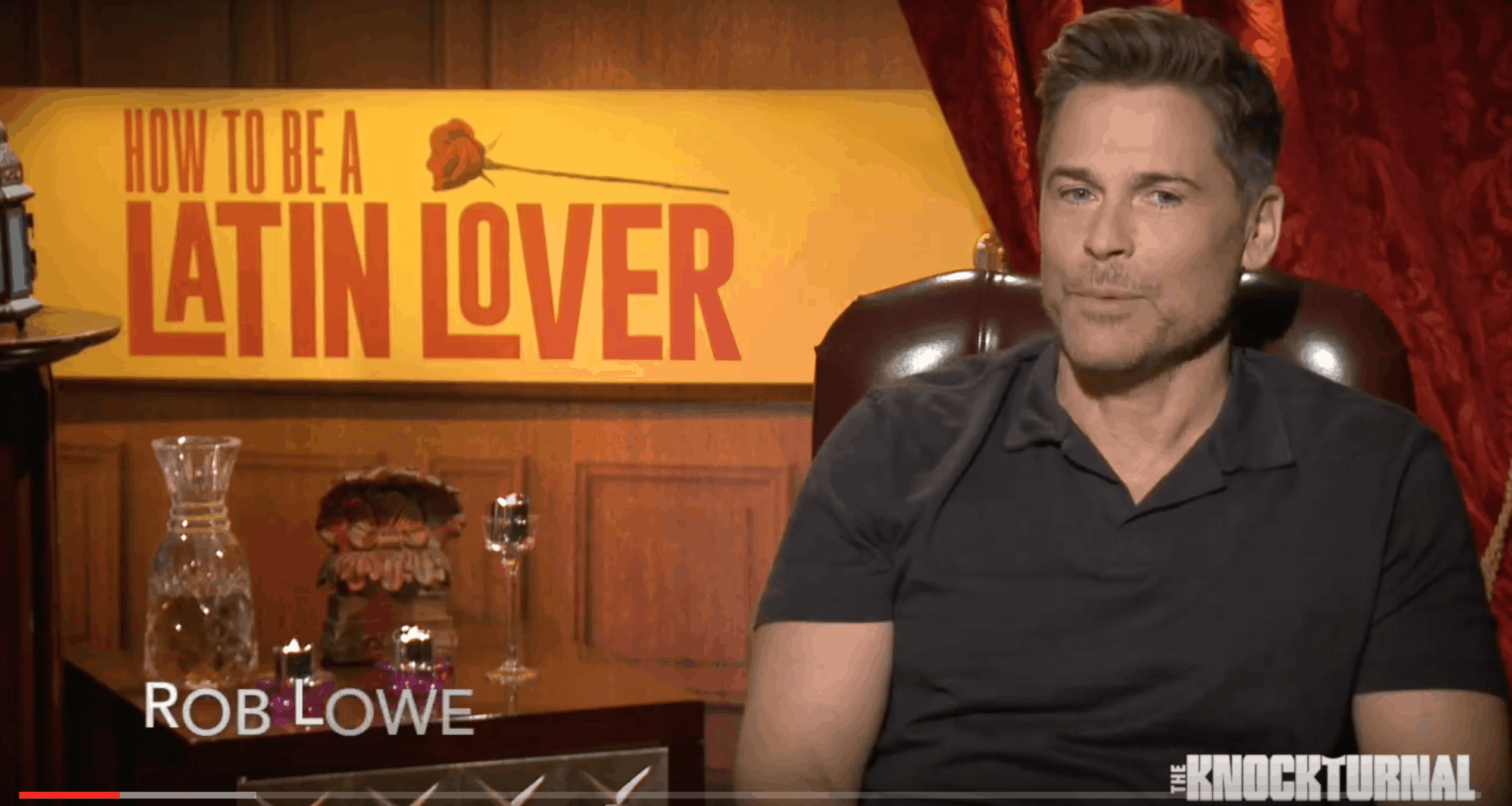 Exclusive: Rob Lowe, Raquel Welch, Rob Huebel, Ken Marino Talk 'how To Be A Latin  Lover' [video]  The Knockturnal