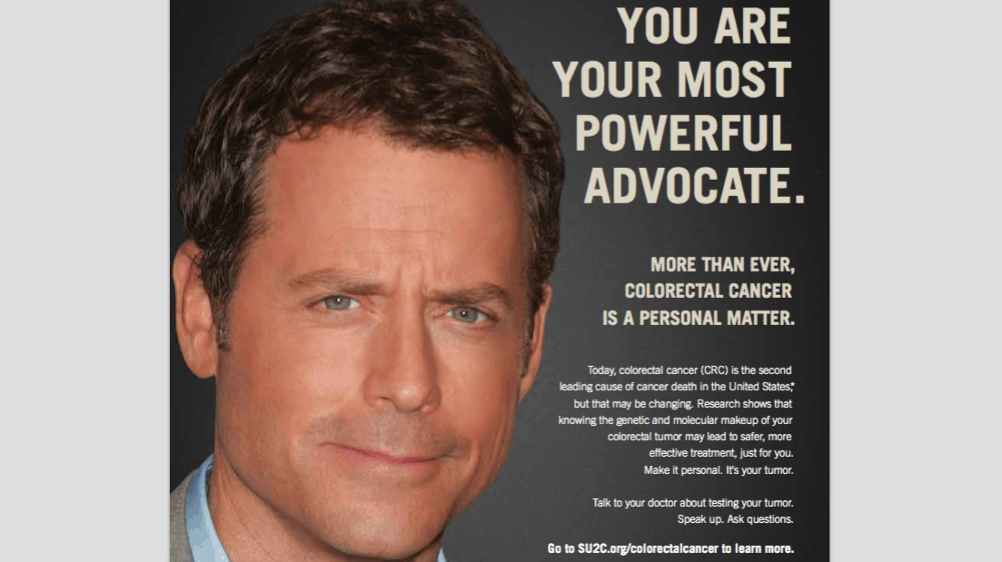 Su2c And Actor Greg Kinnear Release Colorectal Cancer Psa The Knockturnal