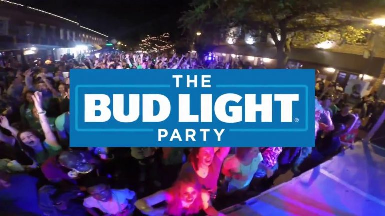 High Quality The Bud Light Party Convention Announces Lineup Awesome Design