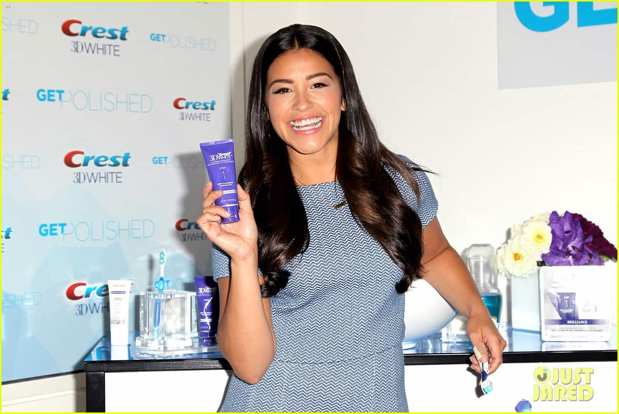 Gina Rodriguez Flaunts Her Smile for Crest 3D White ...