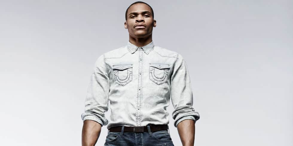 russell westbrook and true religion reunite for ss16 the knockturnal. Black Bedroom Furniture Sets. Home Design Ideas