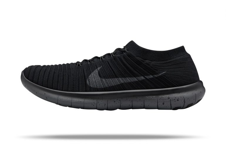 best sneakers 653a4 7c5ba ... shoes uk 89572 74931  ireland nike blacks out the free rn motion flyknit  ea3b2 d98c5