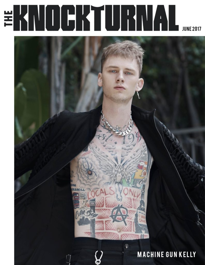 Machine Gun Kelly Graces The Knockturnal's Inaugural Digital Cover [June 2017]