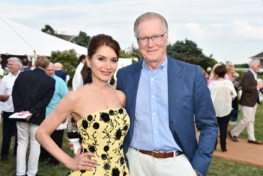 Jean Shafiroff, Chuck Scarborough Southampton Animal Shelter Foundation's Eighth Annual Unconditional Love Gala Honoring Jean Shafiroff and Sony Schotland Private Residence, Southampton, NY July 08, 2017 ©Patrick McMullan Photo - Jared Siskin/PMC
