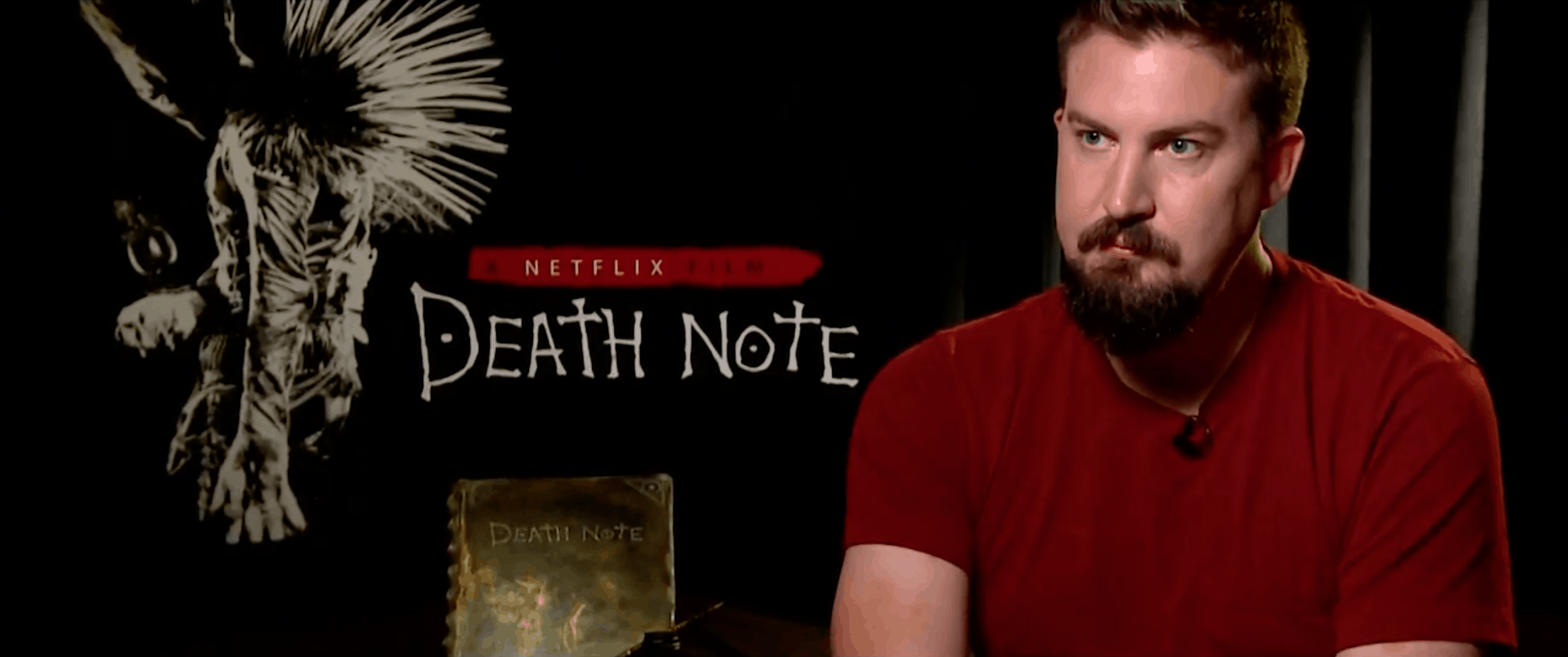 'Death Note' Director Adam Wingard Talks Good vs  Evil and Trying to Cast  Bowie and Prince [Video]