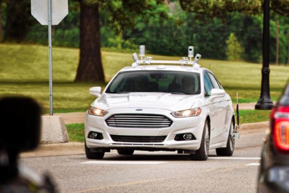 Ford Smart Mobility Autonomous Vehicle City of Tomorrow Symposium