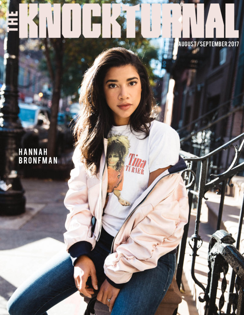 Hannah Bronfman Graces The Knockturnal's August/September 2017 Digital Cover
