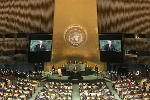 Donald Trump at UN General Assembly 72