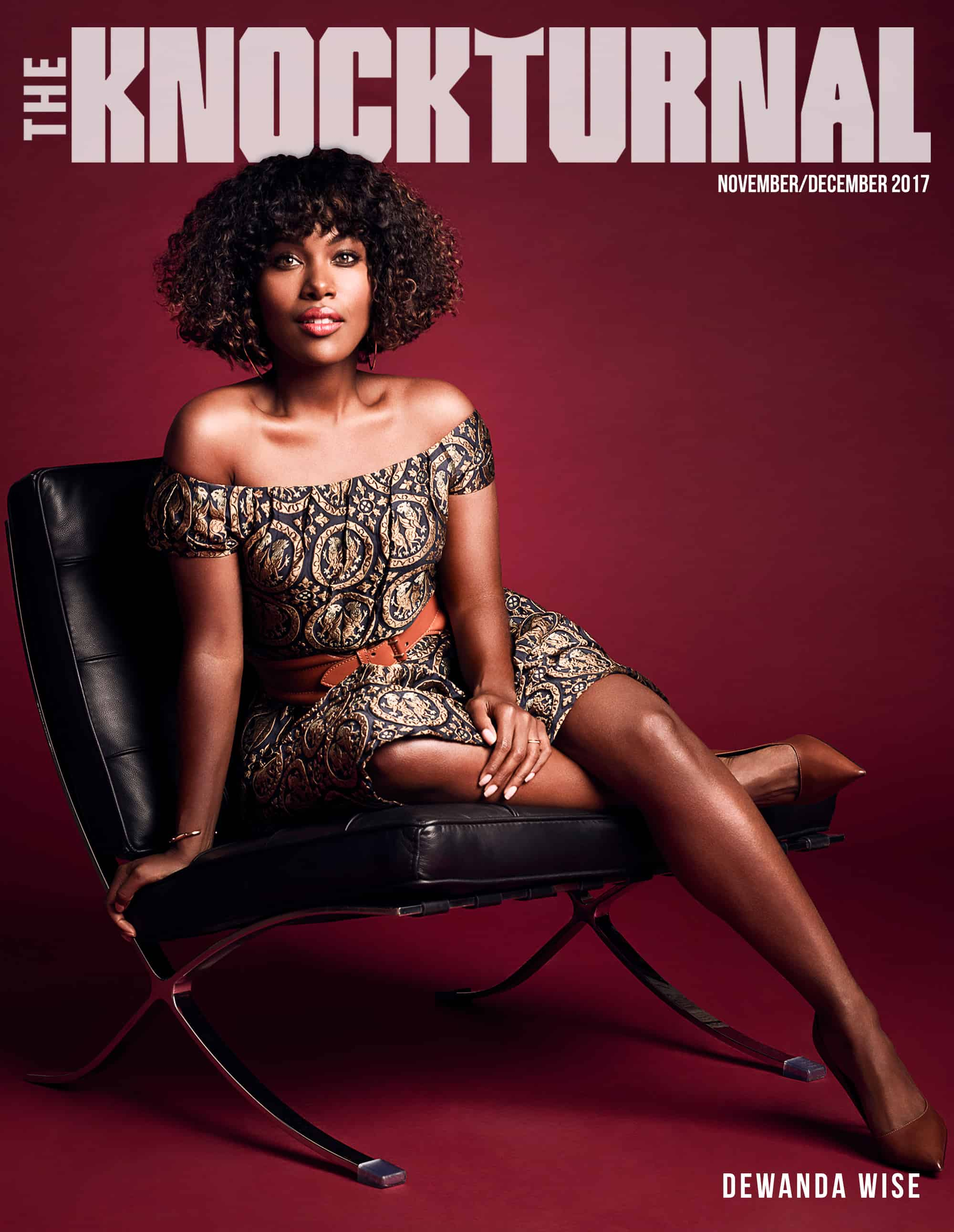 DeWanda Wise Graces The Knockturnal's November/December Digital Cover