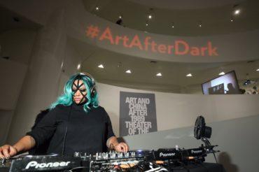 DISCWOMAN at Art after Dark Halloween Edition at the Guggenheim Museum