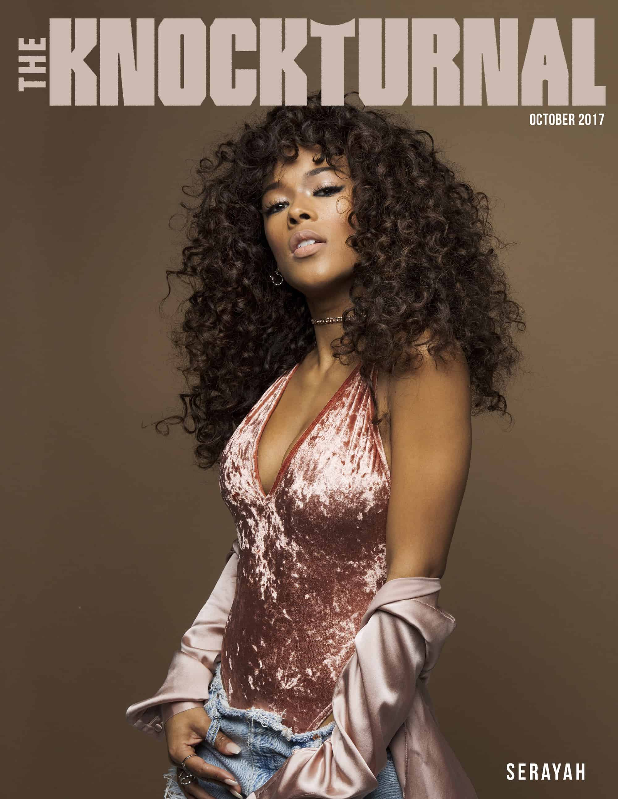 Serayah Graces The Knockturnal's October Digital Cover