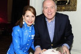 "Jean Shafiroff, Martin Shafiroff== Martin and Jean Shafiroff host ""Beat the January Blues"" Cocktails for Southampton Animal Shelter == Private Residence, NYC== Januaray 23, 2018== ©Patrick McMullan== Photo - Paul Bruinooge/PatrickMcMullan.com== =="