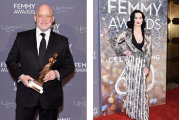 FEMMY awards at Cipriani 42nd street, Dita Von Teese
