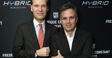 Frederique Constant Taps Mark Ruffalo to Help Launch High Tech Hybrid Manufacture Line in NYC