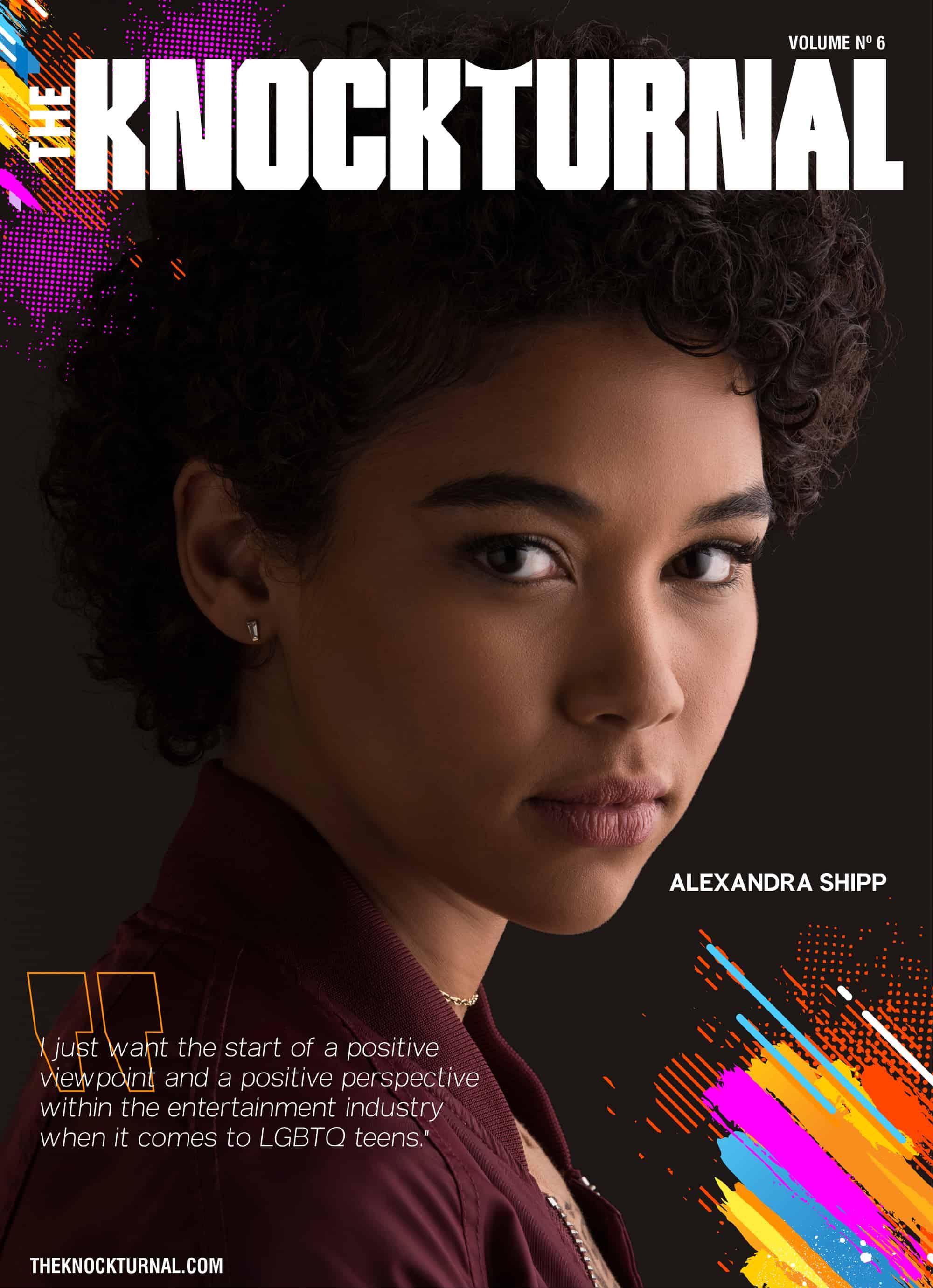 Alexandra Shipp Graces The Knockturnal's Sixth Digital Cover