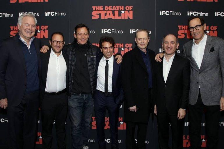 Steve Buscemi, Jason Isaacs, and Director Armando Iannucci  discuss 'The Death of Stalin' - The Knockturnal