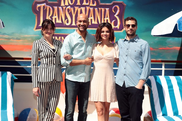 See Selena Gomez And More At The Hotel Transylvania 3 Press Day The Knockturnal