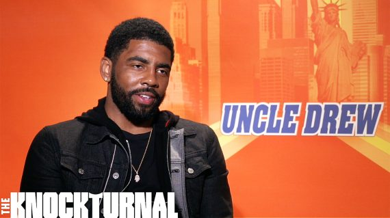 b36b8a2ed16f Exclusive  Kyrie Irving and the Cast Talk  Uncle Drew   Video