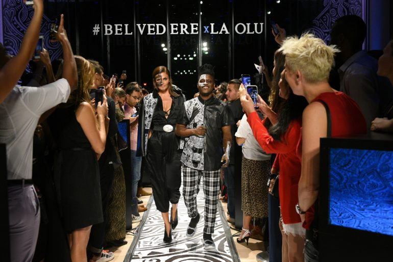 Image result for Belvedere Vodka X Laolu Senbanjo