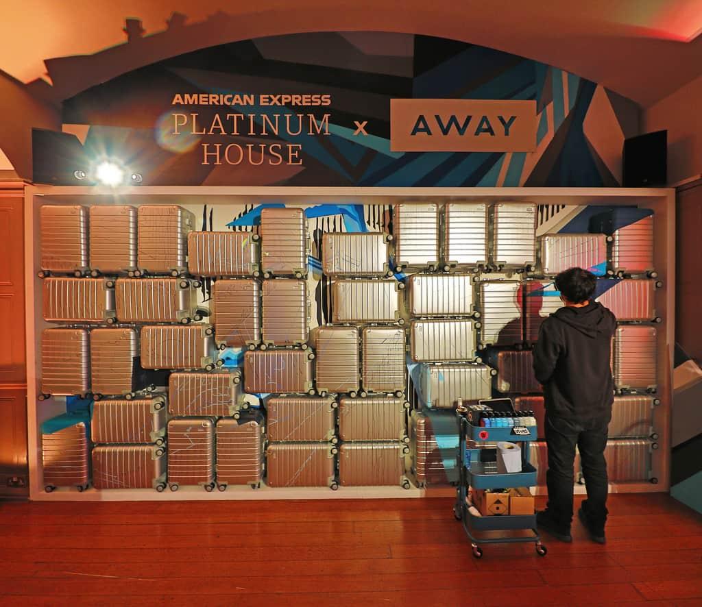House Platinum: On The Scene: Amex Platinum Hosts First International