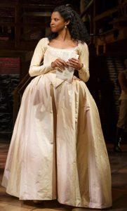 Renée as Angelica Schuyler in Hamilton